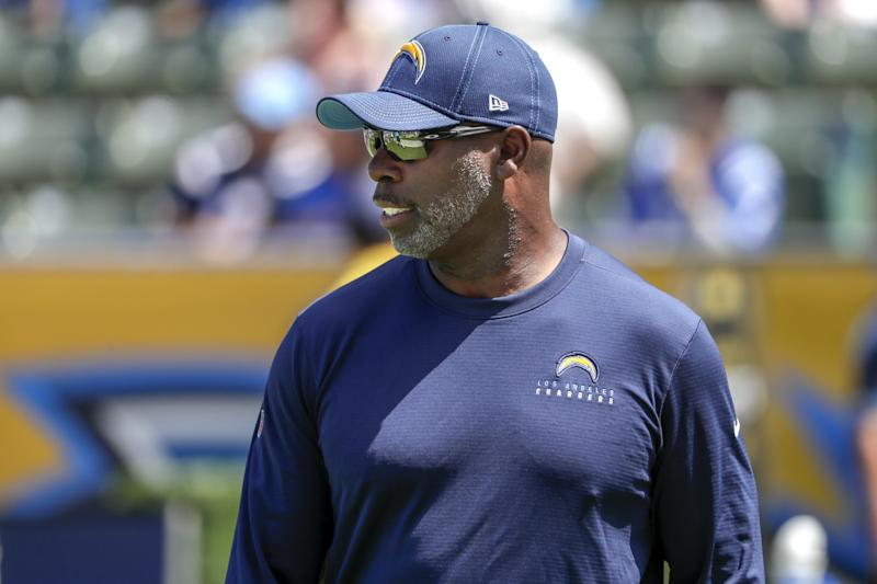 Chargers coach Anthony Lynn.