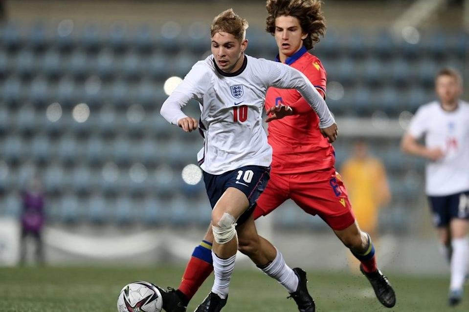 Emile Smith Rowe was the England Under-21s' saviour against Andorra  (The FA via Getty Images)