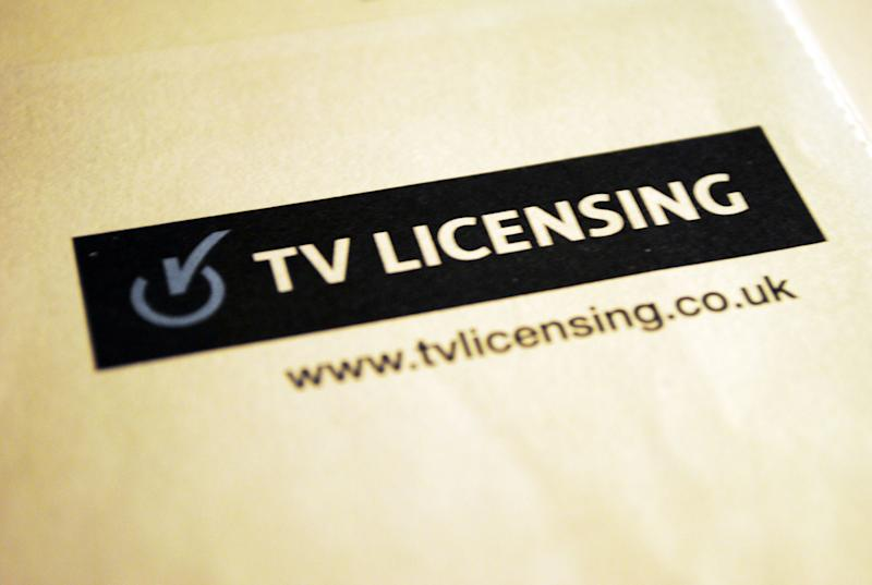 File photo dated 07/12/12 of the TV Licensing logo. Labour is seeking to put pressure on the Government to honour a Conservative manifesto pledge to maintain free TV licences for the over 75s.