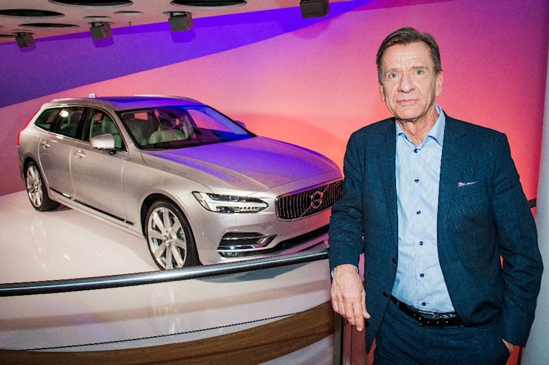 Swedish car manufacturer Volvo's CEO, Hakan Samuelsson (AFP Photo/Jonathan Nackstrand)