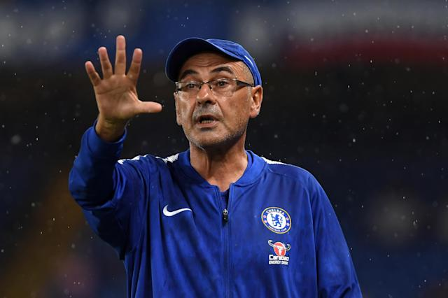 Sarri is the new man in charge at Stamford Bridge