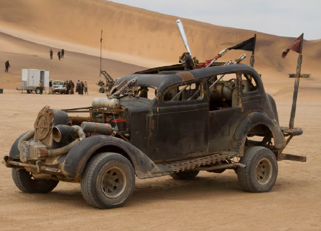 FIRE CAR: DODGE from Mad Max Fury Road