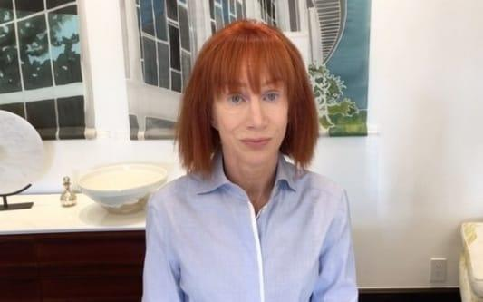 Kathy Griffin said in a video that she had crossed the line - Kathy Griffin/Instagram