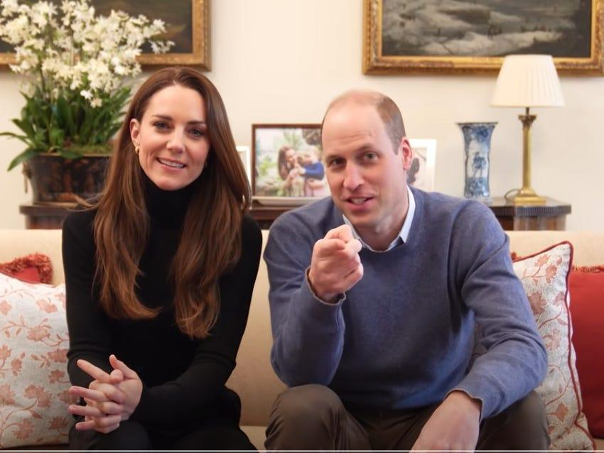 prince william kate middleton youtube channel screenshot