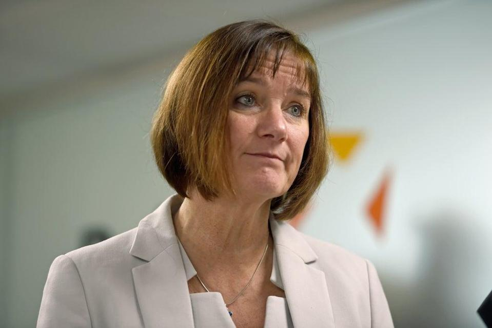 Lynne Owens, director-general of the National Crime Agency, is stepping down (David Mirzoeff/PA) (PA Archive)