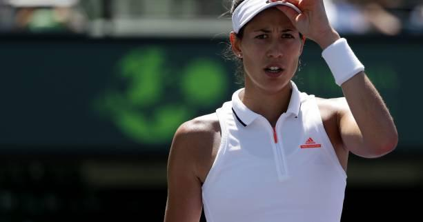 Garbine Muguruza a battu Venus Williams (6-2, 3-6, 6-2) en quart de finale du tournoi de Rome.
