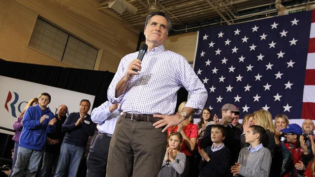Midnight Voting in N.H. Shows Romney in the Lead