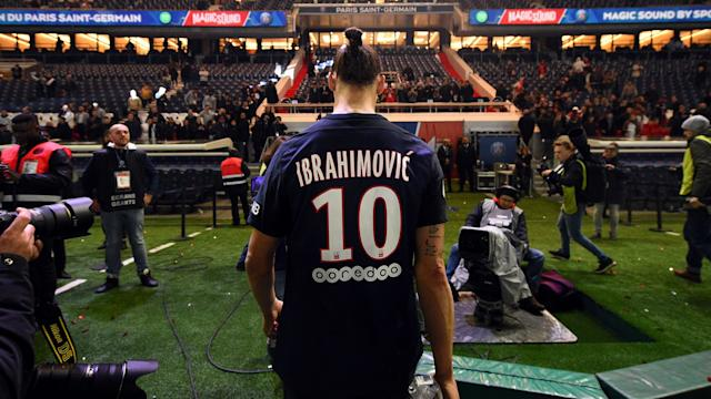 Before his injury-hit 18 months at Manchester United, Zlatan Ibrahimovic was hugely influential at PSG.