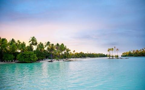 The South Pacific promises beaches and time travel - Credit: GETTY