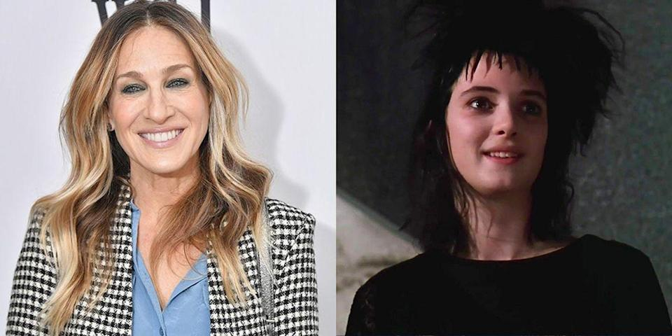 "<p>And we couldn't help but wonder....if Sarah Jessica Parker would have wound up as Carrie Bradshaw if she hadn't <a href=""https://www.mentalfloss.com/article/59718/15-things-you-might-not-know-about-beetlejuice"" rel=""nofollow noopener"" target=""_blank"" data-ylk=""slk:turned down the dark role"" class=""link rapid-noclick-resp"">turned down the dark role</a> of Lydia in <em>Beetlejuice</em>. Instead, Winona Ryder played the role and the <em>Stranger Things </em>actress has made a name for herself in sci-fi type projects ever since.</p>"