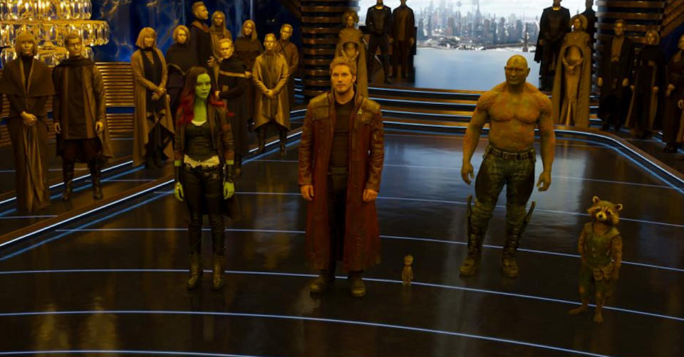 <p>Our heroes don't appear to be very happy. (Photo: Marvel) </p>