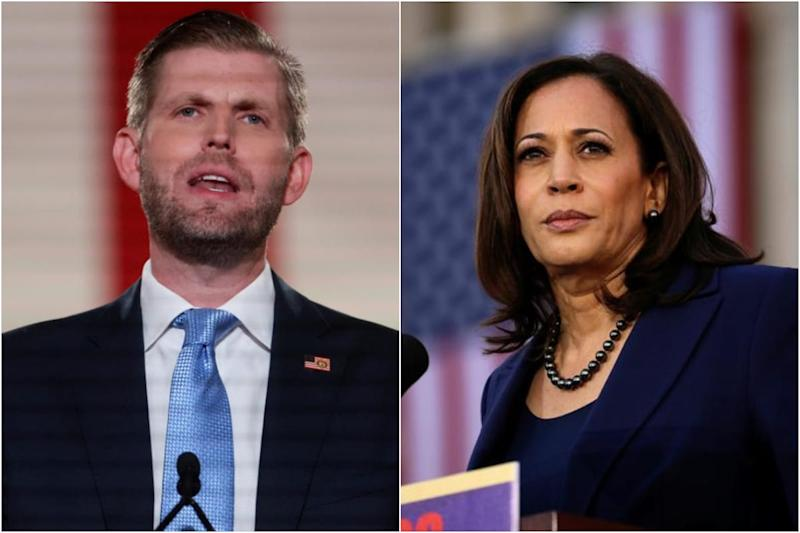 'She Has Run Away from the Community': Trump's Son Questions Kamala Harris' Ties to Indian-Americans