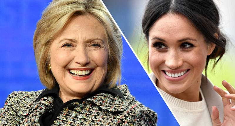 Hillary Clinton quoted Meghan Markle on Instagram [Photo: Getty]
