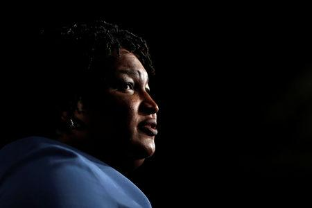 Shutdown a Trump'stunt' says Democrat Abrams in reply to annual speechMore
