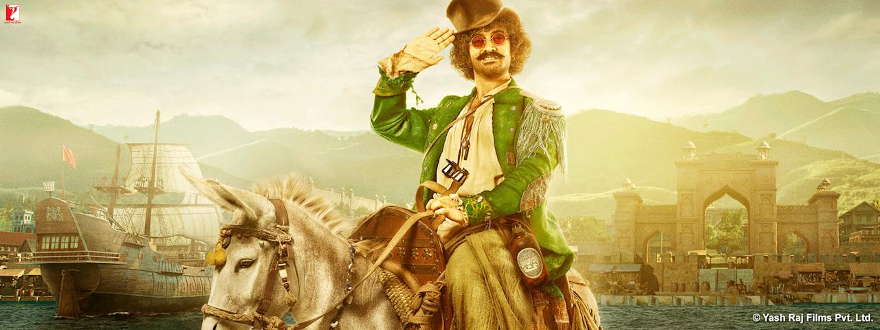 <p>Aamir Khan plays Firangi. </p>