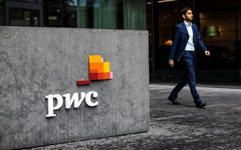 <span>Big Four accounting giant PwC is paying £765,000 to each of its 913 partners </span> <span>Credit: Jack Taylor/Getty Images Europe </span>