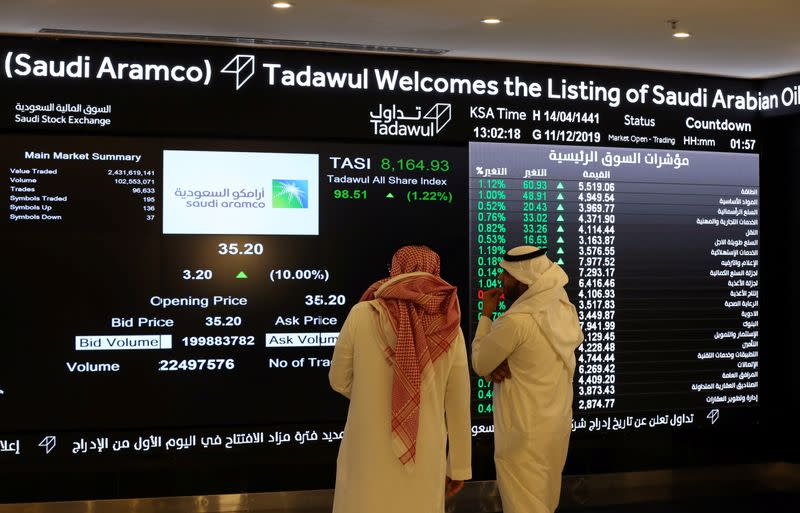 Gulf markets plunge on U.S.-Iran tensions, Aramco at lowest since IPO