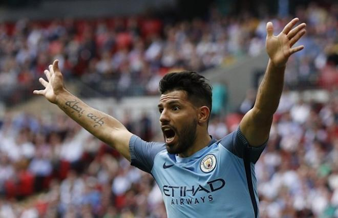 Sergio Aguero, Manchester City, Manchester United, Premier League