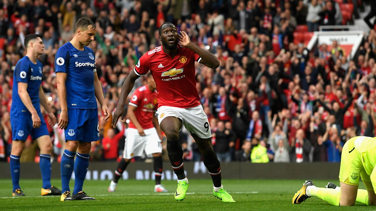 "With Manchester United fans continuing to sing a song deemed ""offensive and discriminatory"", Romelu Lukaku has again asked them to stop."