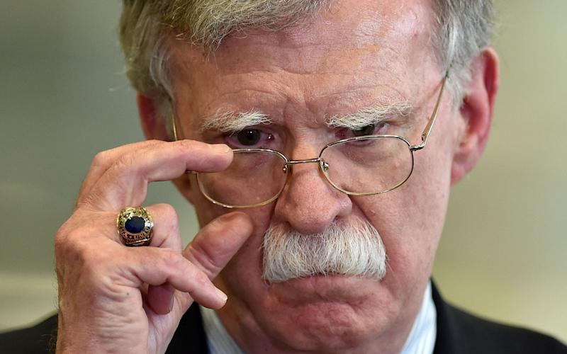 John Bolton, former national security adviser to president Trump, said he noticed his former boss was much harsher with female leaders. - AFP