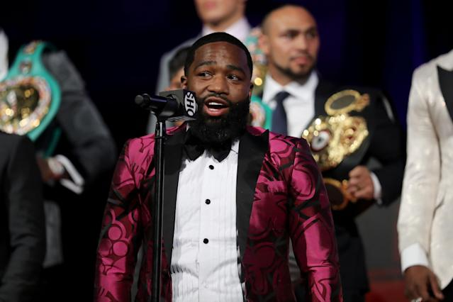 Boxer Adrien Broner was arrested on Monday at an Atlanta mall and charged with sexual battery. (Getty Images)