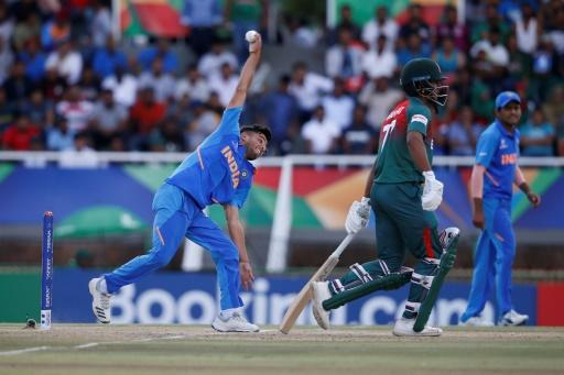 Ravi Bishnoi had a spell of four for 12 but could not stop Bangladesh's captain Akbar Ali leading his side to victory