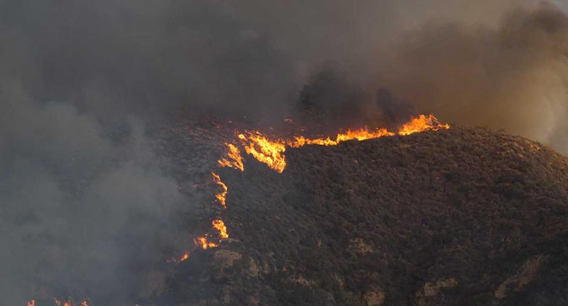 California fires: The blazes continue to burn and still pose a threat to 57,000 buildings. Source: Supplied