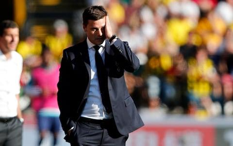 Pochettino has never lost three in a row at Spurs during his time in charge - Credit: AP