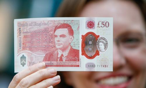 The new £50 note