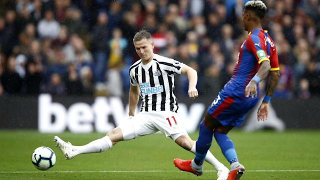 Crystal Palace offered the greater threat at Selhurst Park, but neither they nor struggling Newcastle United could find a goal.