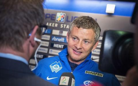 Solskjaer has won two Norwegian league titles with Molde - Credit: GETTY IMAGES