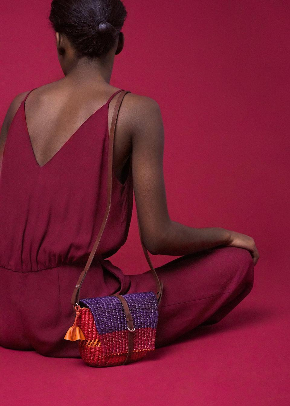 <p>I love the color combination of the <span>Bika Rouge</span> ($180).</p>