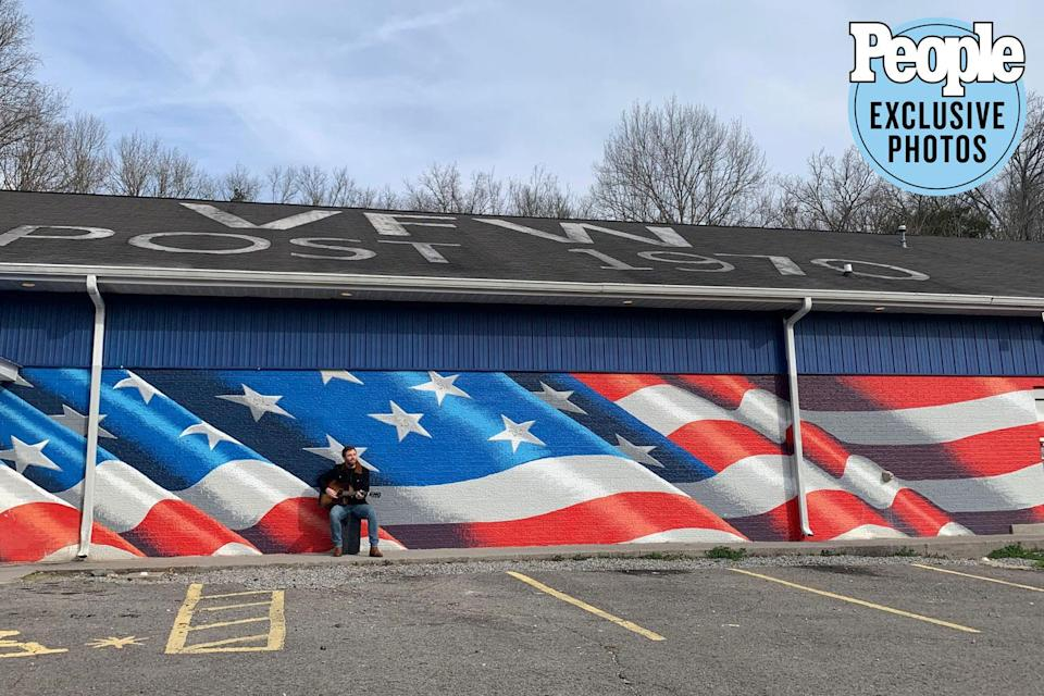 <p>The post's exterior has a massive flag mural, painted by artist Scott LoBaido, who's created similar murals at veterans' posts in all 50 states. When I'm back on the road touring, I'll definitely be visiting other posts, and I'll look forward to seeing more of these murals.</p>