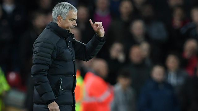 Jose Mourinho admitted he wanted a sharper attack from Manchester United against Liverpool, but hit out at praise of their opponents' form.