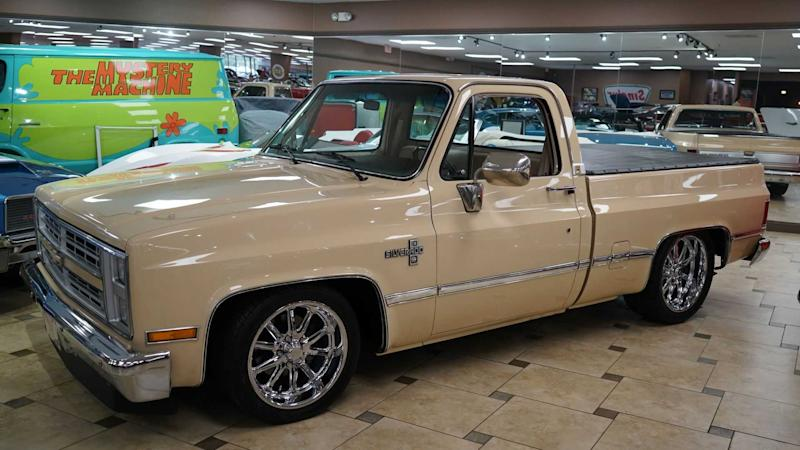 Go Fast In This 1985 Chevy C10