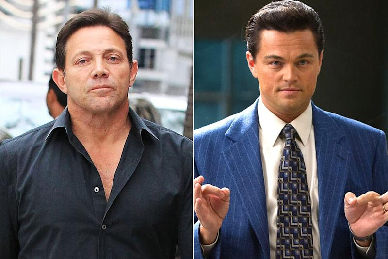 Jordan Belfort, and Leonardo DiCaprio in The Wolf of Wall Street | Hollywood To You/Star Max/GC Images; Moviestore/Shutterstock