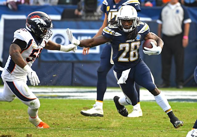 There doesn't seem to be much of a market for Chargers' RB Melvin Gordon. (Getty Images)