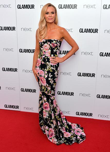 <p>Amanda was definitely getting into the summer spirit in this floral Dolce And Gabbana gown. [<i>Photo: Anthony Harvey/Getty Images]</i></p>