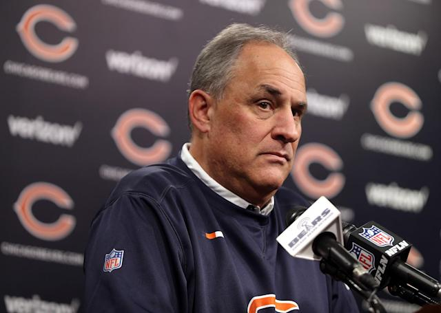 Vic Fangio bucks the NFL trend of hiring young offensive-minded coaches. (Getty)