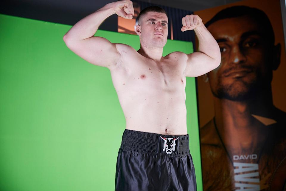 <p>Johnny Fisher makes his professional debut this weekend</p> (Mark Robinson Matchroom Boxing)