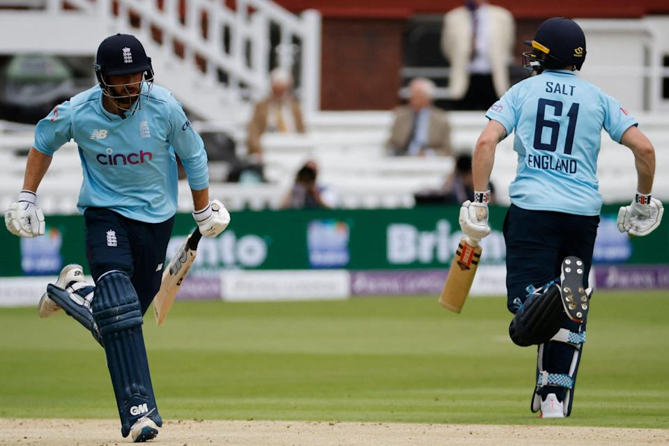 James Vince and Phil Salt put on a terrific stand of 97 (AFP via Getty Images)