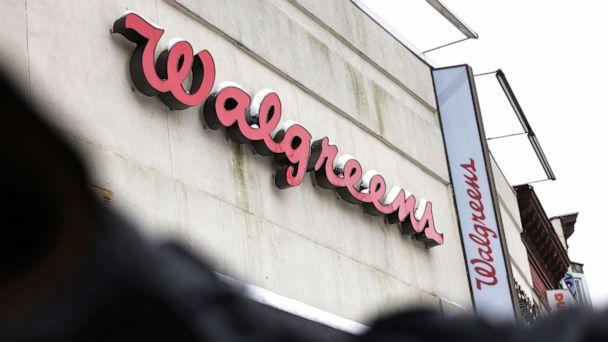 PHOTO: A Walgreens sign is seen in the Brooklyn borough of New York City, Feb. 9, 2021. (Michael M. Santiago/Getty Images, FILE)