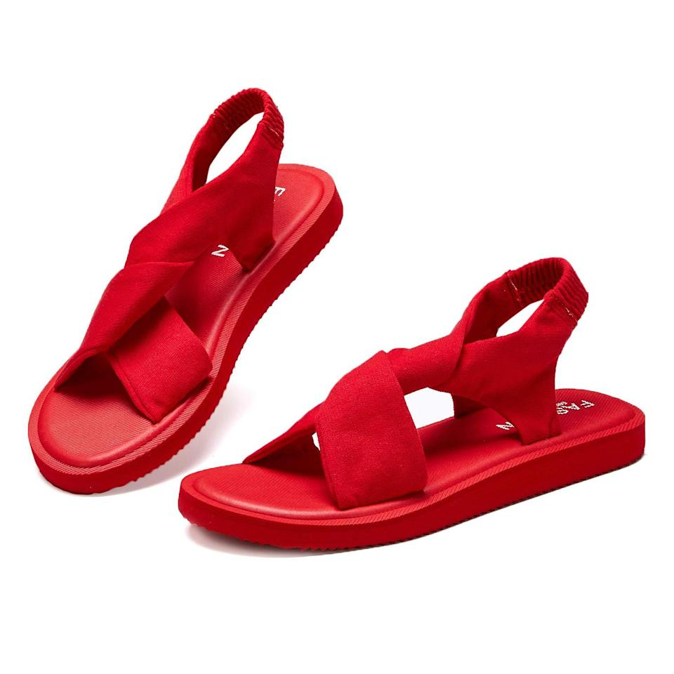 """<br><br><strong>Hetios</strong> Lightweight Sandals, $, available at <a href=""""https://amzn.to/3wgdsnx"""" rel=""""nofollow noopener"""" target=""""_blank"""" data-ylk=""""slk:Amazon"""" class=""""link rapid-noclick-resp"""">Amazon</a>"""