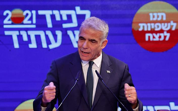 Centrist Yesh Atid leader and Netanyahu rival Yair Lapid - AFP/AFP