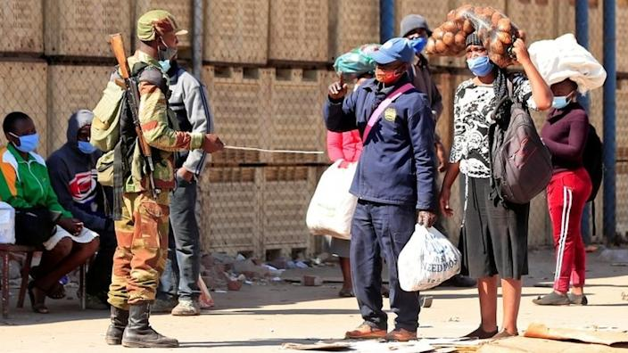 The security forces have vowed to maintain law and order in Zimbabwe
