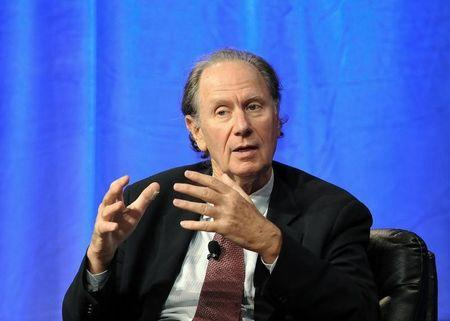 """David Bonderman, Founding Partner, TPG Capital takes part in a panel discussion titled """"Chinese Market Culture: How Well Can You Know a Company?"""" at the Milken Institute Global Conference in Beverly Hills"""