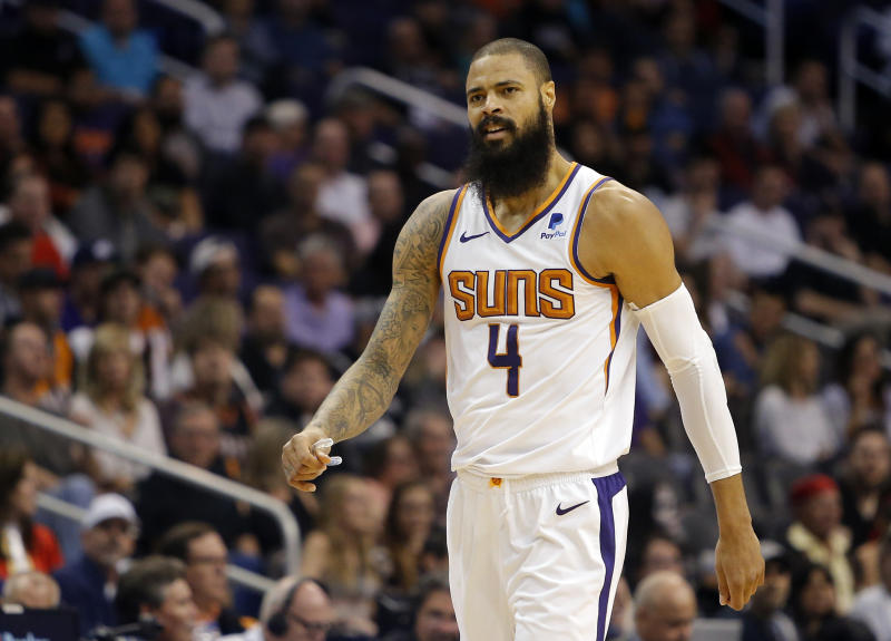 Suns reach buyout agreement with Tyson Chandler""