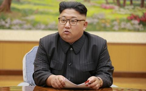"""South claims to have seen indications North is to launch missiles Warning as it holds live-fire drills after Kim Jong-Unnuclear test North says its enemies are 'hell-bent on escalating confrontation' United Nations Security Council holds emergency meeting US has warned threatwouldtrigger 'massive military response' Boris Johnson urges against strike as North could 'vaporise' Seoul What is North Korea's missile range? Everything you need to know The UnitedNations Security Council is holding an emergency meeting about North Korea amid fears Kim Jong-un's regimeis preparing to launch a ballistic missile. Military leaders in South Korea claim to haveseen indications that the North is preparing an attack and believe it hassuccessfully miniaturised a nuclear weapon to fit onto anintercontinental ballistic missile. Sunday's nuclear testbyNorth Korea regime had an estimated strength of50 kilotons - three times bigger than the US device thatdestroyed Hiroshimain 1945 -Seoul defence ministry officials told a parliamentary briefing on Monday as they agreed """"it is time to strengthen"""" a military response. North Korean leader Kim Jong-un at a meeting on Monday, as his regimesaid its enemies are 'hell-bent on escalating confrontation' Credit: REUTERS/KCNA The South responded to the nuclear test,which the North claimed was of ahydrogen bomb,with live-fire drills off its eastern coast on Monday that were meant to simulate an attack on the North's main nuclear test site. North Korea responded on Mondaythat its enemies are""""hell-bent on escalating confrontation"""", as it launched a scathing attack on the """"warmongers"""" in Seoul. South Korea flexes its military muscle 01:11 Chinawarned NorthKoreaagainst proceeding with plans to launch another ballistic missile, saying it should not worsen tensions, but said Donald Trump's trade threat was """"unacceptable"""". TheUN Security Council is holdingits second emergency meeting about NorthKoreain a week to discuss responses to the test. Last August, it """