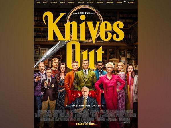 Poster of 'Knives Out' (Image source: Instagram)