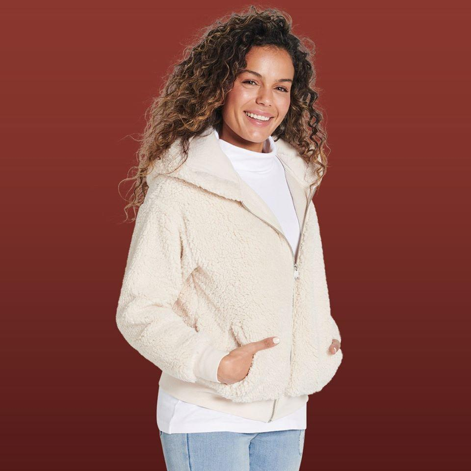 The Best & Less Teddy Bomber woman's jacket $25 sells out online